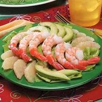 Grapefruit Shrimp Salad
