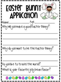 Writing Activity for April