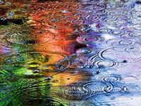 Colorful Raindrops