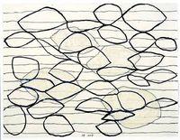 jurgen partenheimer. ink, watercolor, pencil on paper
