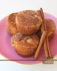 Cinnamon-Sugar Mini Cupcakes