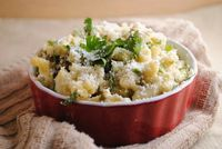 poblano mac and cheese.