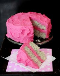 Pink Lemon Poppy Seed Cake'�'�'love it!