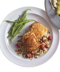 Chicken with Wild Rice and Grapes (2010)