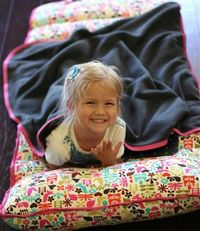 A bedroll to take along - daycare, camping, boating...