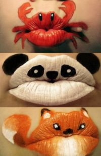Can't Smooch anyone with these!