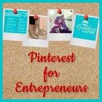 Pinterest for Entrepreneurs. If you're ready to get in on the pinning fun, join me for a live lab that will teach you how to attract new visitors to your site while increasing your numbers using Pinterest.