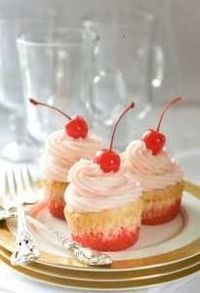 Sherley Temple Cupcakes