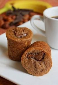 Banana Nutella Mini-Muffins