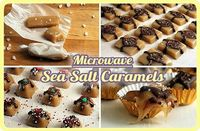 Caramels in the microwave!