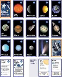 Free solar system trading cards!