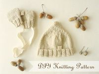 Mini hat and mittens {italian free pattern by Daily Suze}