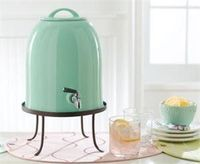 Classic Hostess: drink dispenser, gorgeous colour