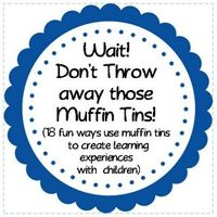 18 muffin tin activities