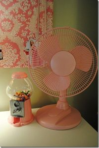 You can spray paint a fan