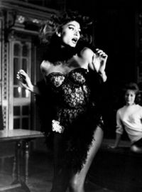 Actress Anouk Aimée (b. 1932), in Jacques Demy's film, �€œLola,�€ 1961