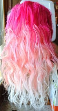 Pink fade to White