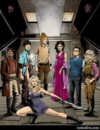 The Big Bang Theory cast as Firefly characters!!!!!