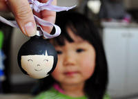 How to Create Painted Custom Family Faces Ornament