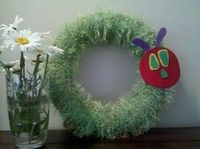 Hungry Caterpillar Wreath