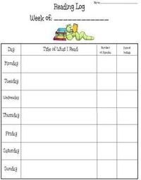 This is a variety of four different reading logs. Each reading log is slightly different to fit your needs. You can choose which one you want to ...