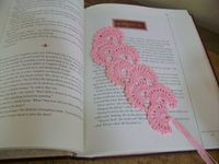 Crochet Bookmark. Free pattern on Ravelry