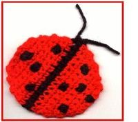 lady bug crochet pattern