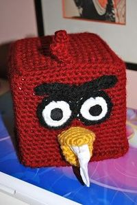 Angry Birds Tissue Box Cover