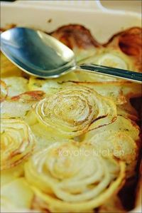 potatoes and onion dish