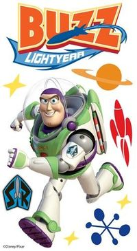 EK Success - Disney Collection - 3 Dimensional Stickers with Epoxy Foil and Varnish Accents - Buzz Lightyear 1 at Scrapbook.com $5.49