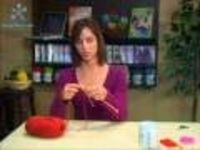 knitting tutorial for beginners -1...there are several.