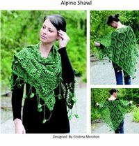 Alpine Shawl by Christine Merschon - Free pattern!