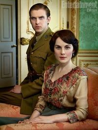 Matthew and Mary from Downton Abbey; I loved that series