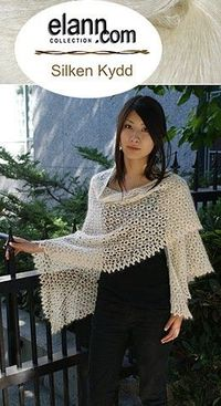 Birds Eyes Shawl