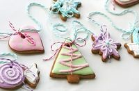 Christmas cookie garland :)