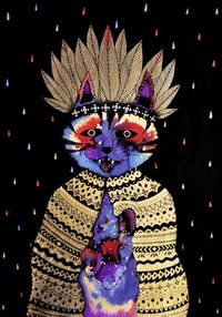 Crazy Cat People by Kruella D'Enfer.