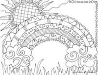 What's this? Free coloring pages for adults?