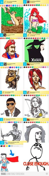 Draw something...