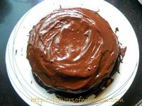 Melting Moments - Dark Chocolate Fudge Cake: Dark Chocolate Fudge Cake is moist, delicious, great texture and tempting. The frosting of this cake...[read more at Food Frenzy]