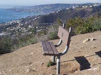 My favorite site for hiking. This is the hike I do at Laguna Beach with a beautiful view of the ocean as your reward at the top of the hill.