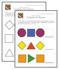 Preschool Math: Exploring Patterns | Education.com