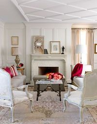 Love this ceiling treatment. #homedecor #ceiling