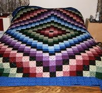 Oh..my...goodness... granny square heaven...or hell, depends on how you look at it...