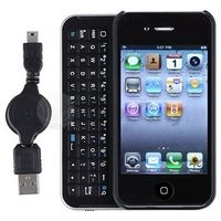 Sliding Bluetooth Keyboard for iPhone 4
