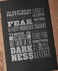 Holy awesome poster, Batman! For the sleekest of nerds. #poster #print #quote