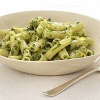 Lemon pasta with herbs and cracked pepper