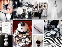 Monochrome Wedding #weddingdecoration