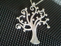 Heart Tree Pendant Necklace