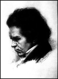 Ludwig van Beethoven, coming to terms with his deafness