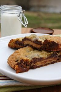 Chocolate Chip Cookies Stuffed With Reeses